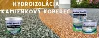 Hydroizolácia kamenný koberec
