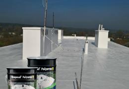 Hydroizolácia strechy  z asfaltových pásov