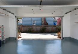 Podlaha do garáže cez víkend
